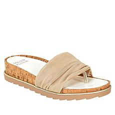 Donald J. Pliner Caity Stretch Fabric Platform Thong Sandal