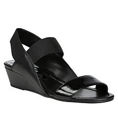 Donald J. Pliner Elsie Leather Wedge Sandal