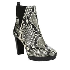 Donald J. Pliner Elyna High-Heel Leather Platform Bootie