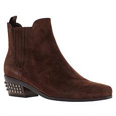 Donald J. Pliner Milann Pull-On Studded Heel Leather Bootie