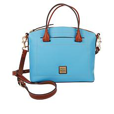 Dooney & Bourke Beacon Pebble Leather Dome Satchel - Fashion
