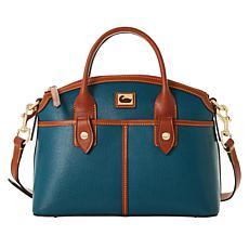 Dooney & Bourke Camden Saffiano Leather Domed Satchel