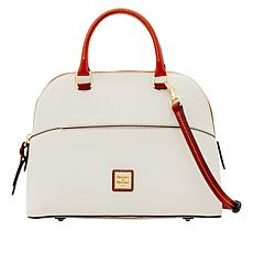 Dooney & Bourke Carter Pebble Leather Satchel