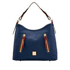 Dooney & Bourke Cooper Pebble Leather Hobo Bag - Classic