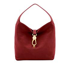 Dooney & Bourke Florentine Leather Bag with Lock