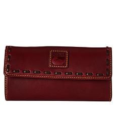 Dooney & Bourke Florentine Leather Continental Wallet