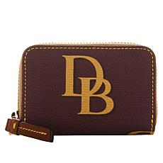 Dooney & Bourke Monogram Zip Around Credit Card Case - Fashion