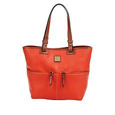 Dooney & Bourke Pebble Leather Shopper - Geranium
