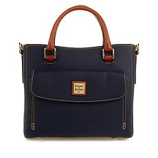 Dooney & Bourke Pebbled Leather Medium Pocket Satchel