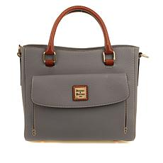 Dooney & Bourke Pebbled Leather Medium Pocket Satchel