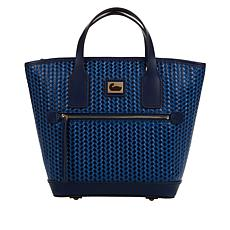 Dooney & Bourke Woven Leather Small Convertible Tote