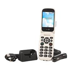 Doro Flip Tracfone with 1200 Minutes/Texts/Data & Assistance Button