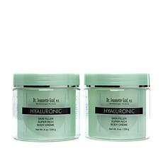 Dr. J. Graf Hyaluronic Skin Filler Rich Body Crème 2pk