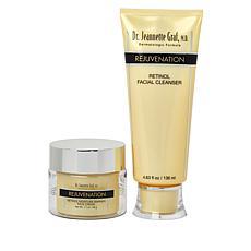 Dr. Jeanette Graf, M.D. Rejuvenation Retinol Cleanser & Crème 2-pc Set