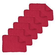 Drayton Scarlet Placemat Set of 6