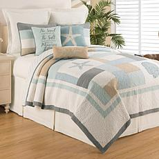 Driftwood Shores Twin Quilt Set