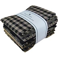 Dunroven House Fat Quarter Bundle - Black