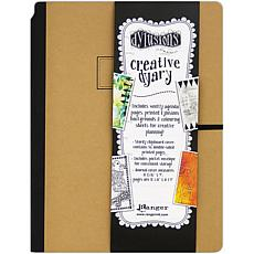 Dyan Reaveley's Dylusions Creative Dyary 11.8125X9 - Kraft W/Black