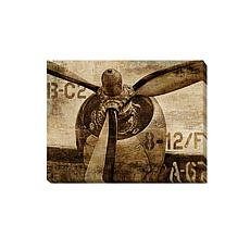 "Dylan Matthews ""Vintage Propeller"" Canvas Art Small"