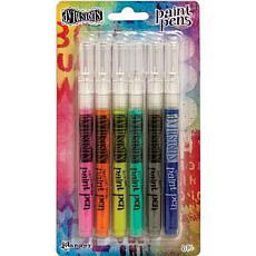 Dylusions Paint Pens 6/Pkg - Set #2