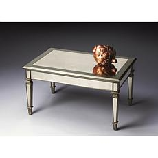 Dynamic, Mirrored Cocktail Table