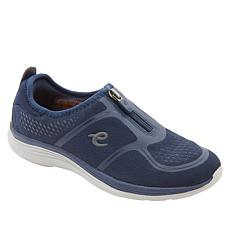 easy spirit Glossy Zip-Up Walking Shoe