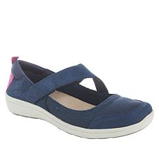 easy spirit Luna Suede Mary Jane Sport Flat