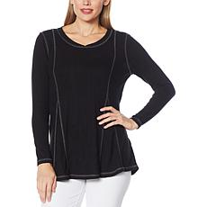 Eaze Wear by Antthony Fit-and-Flare Lounge Top