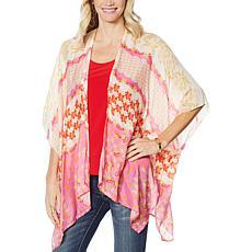 Echo Flora Open-Front Kimono