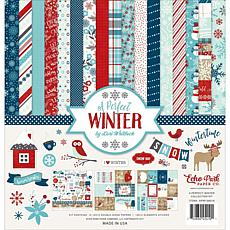 Echo Park Collection Kit 12X12 - A Perfect Winter