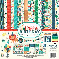 Echo Park Collection Kit 12X12 - Happy Birthday Boy