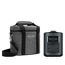 EcoFlow Tech RIVER Mobile Power Station Travel Bundle with Case