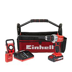 Einhell 18-Volt Drill Driver Workshop Kit