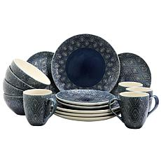 Elama Kali 16-Piece Dinnerware Set