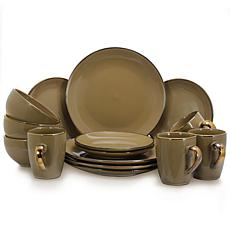 Elama's Bristol Grand 16-Piece Dinnerware Set