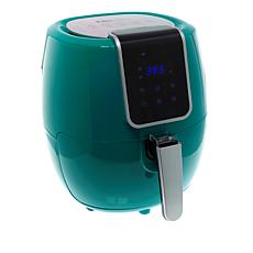 Elite Bistro 5.6-Quart Digital Touchscreen Air Fryer with Recipes