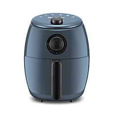 Elite Gourmet 2.1-qt Hot Oil-free Air Fryer - Blue Green
