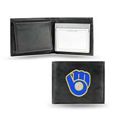Embroidered Billfold - Milwaukee Brewers