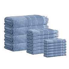Enchante Home Ellen 16-piece Turkish Cotton Bath Towel Set