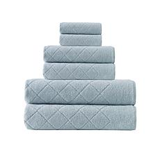 Enchante Home Gracious 6-piece Turkish Cotton Bath Towel Set