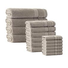 Enchante Home Monroe 16-piece Turkish Cotton Bath Towel Set