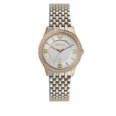 "ESCAPE Women's ""Clementine"" Goldtone/Silvertone Watch"