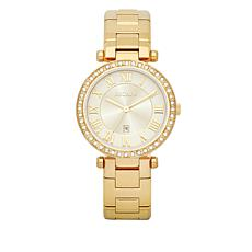 "ESCAPE Women's ""Serenity"" Goldtone Bracelet Watch"
