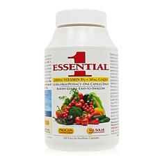 Essential-1 with Vitamin D3-2000 + 30mg CoQ10 - 360 Capsules