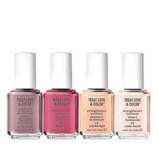 Essie TLC Nail Care and Color 4-piece Holiday Bundle