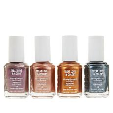 Essie TLC Nail Care and Color Metallics 4-piece Set