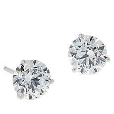 Ever Brilliant 14K White Gold 2ctw Lab Grown Diamond Stud Earrings