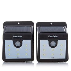 EverBrite™ Deluxe 2pk Solar-Powered LED Outdoor Lights