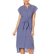 Evryday Jane Tie-Waist Shirt Dress