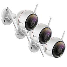 EZVIZ C3W (ezGuard) 3-pack 1080p Full HD Outdoor Wi-Fi Camera